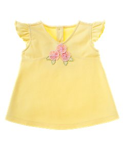 Baby Girl Corsage A-line Tee