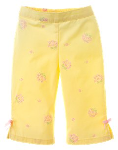 Baby Girl Floral Woven Pant