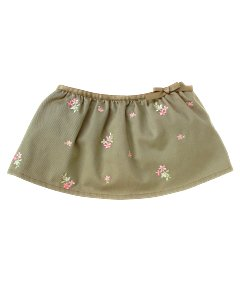 Baby Girl Embroidered Skirted Bloomer