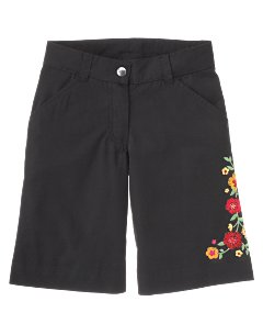 Embroidered Walking Short