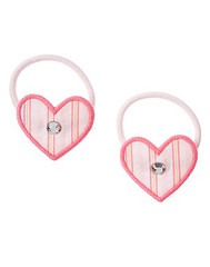 Heart Pony Holder Two-Pack