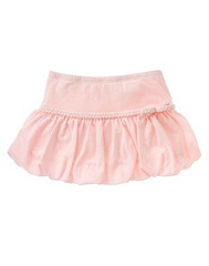 Barely Pink Bubble Skort