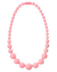 Pink Bauble Necklace