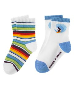 Catch A Wave Two-Pack Sock