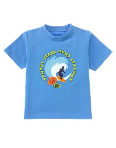 Blue Surf Lessons Tee
