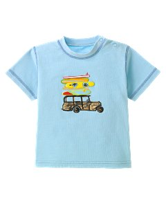 Blue Surf Wagon Tee