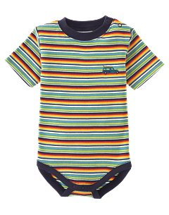Stripe Surf Wagon Bodysuit