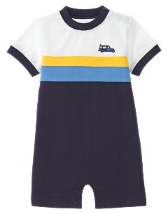 Colorblock Surf Wagon One-Piece