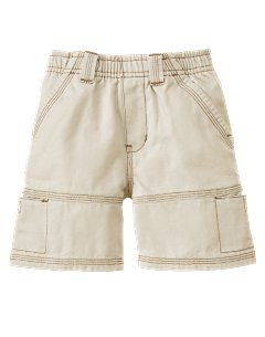 Baby Boy Khaki Pull On Short