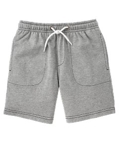 Grey Knit Short