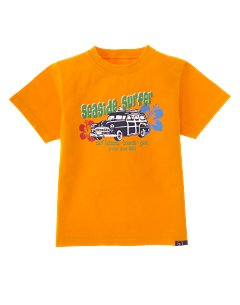 Orange Surf Wagon Tee