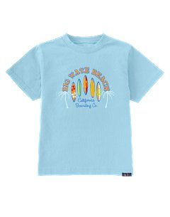 Blue Surfboard Tee