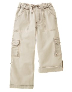 Khaki Roll Up Pant