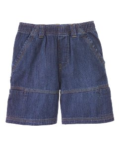 Denim Pull On Short