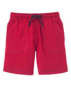 Red Knit Short